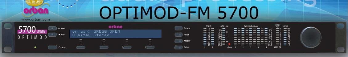 FM5700音频处理器