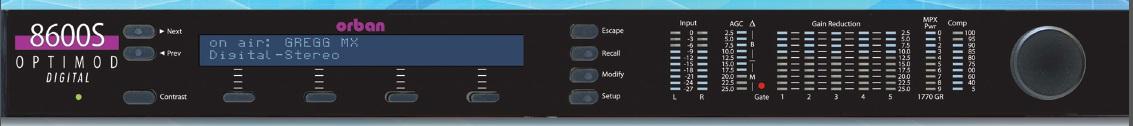 FM8600S音频处理器
