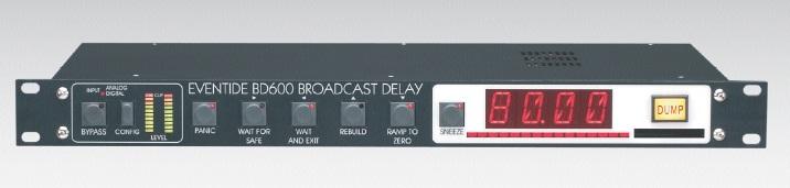 Eventide BD600广播数字音频延时器