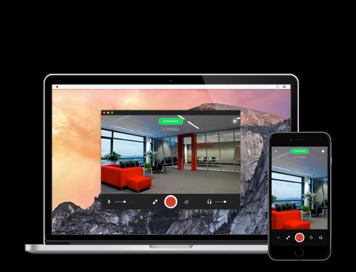3G/4G/4K传送设备-Streamur App