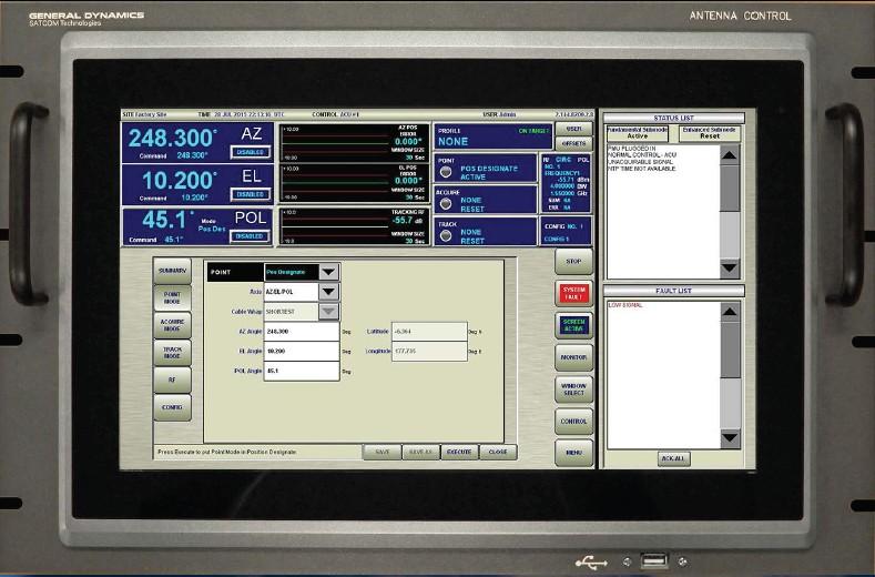 950天线控制系统