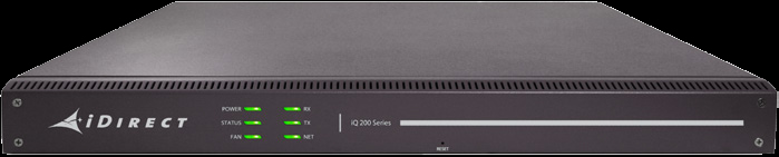 iQ 200 Rackmount Satellite Router